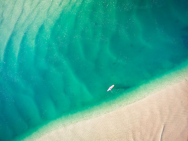 SUP South Stradbroke Island Queensland