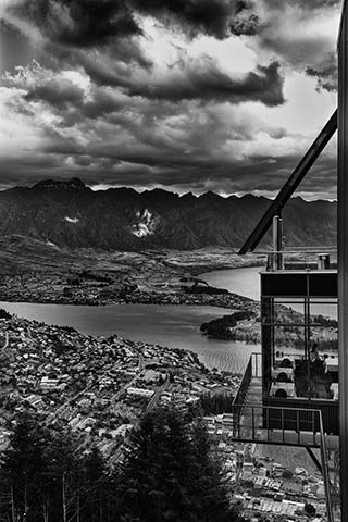 Bobs Peak Skyline Queenstown New Zealand